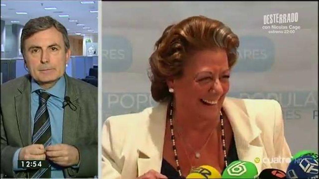 """Saura: """"Rajoy está cogido, no puede tomar decisiones porque Rita terminaría cantando"""""""