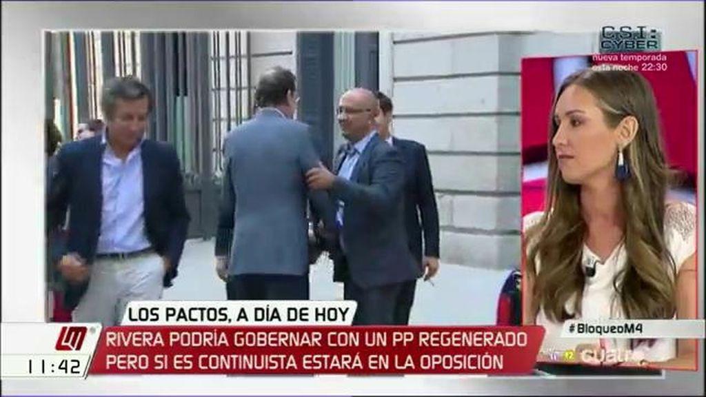 """Melisa Rodríguez (C's): """"El documento del PP es una transcripción de su programa sin voluntad de cambio"""""""