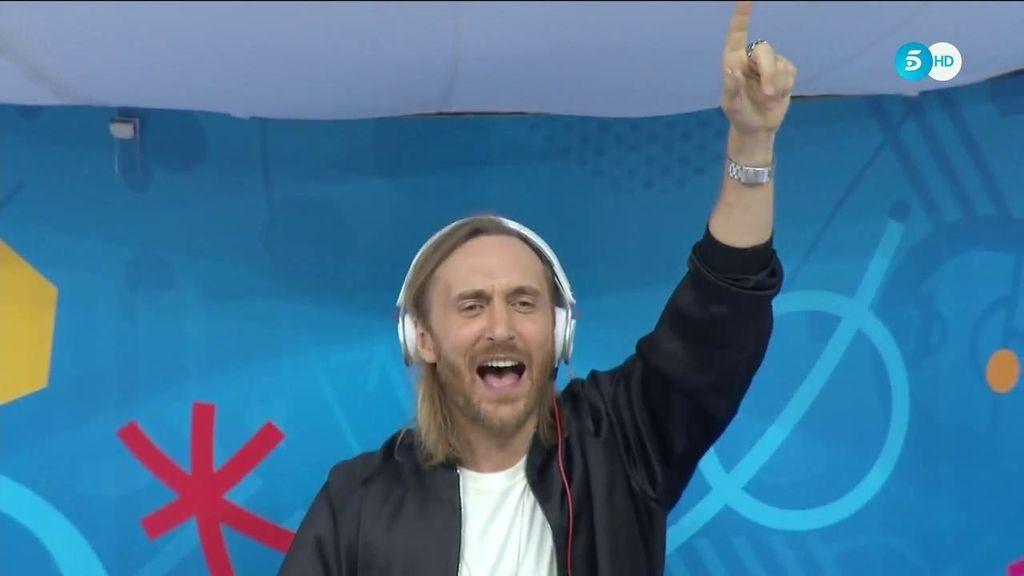 David Guetta, protagonista de la ceremonia de inauguración de la Eurocopa
