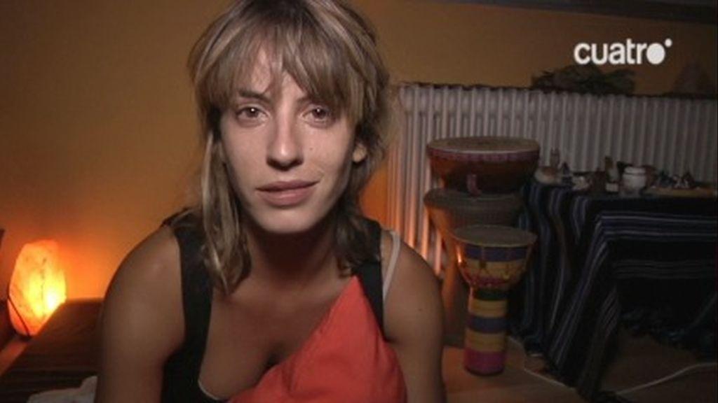 Meritxell Martorell experimenta con la droga de la selva durante '21 Días'