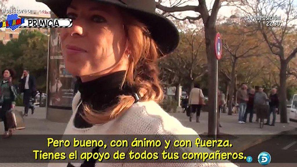 """Pastora Soler: """"Es un hasta luego, no creo que pueda estar toda la vida sin hacer lo que llevo 20 años haciendo"""""""