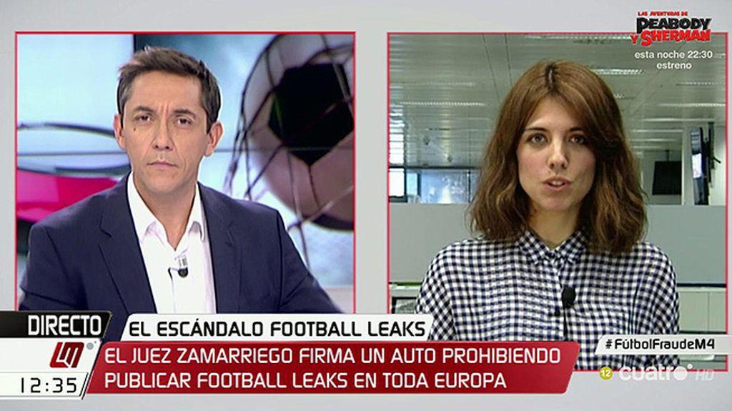 """P. Guisado, sobre Football Leaks: """"Debe prevalecer el derecho a la información porque la información es relevante socialmente"""""""