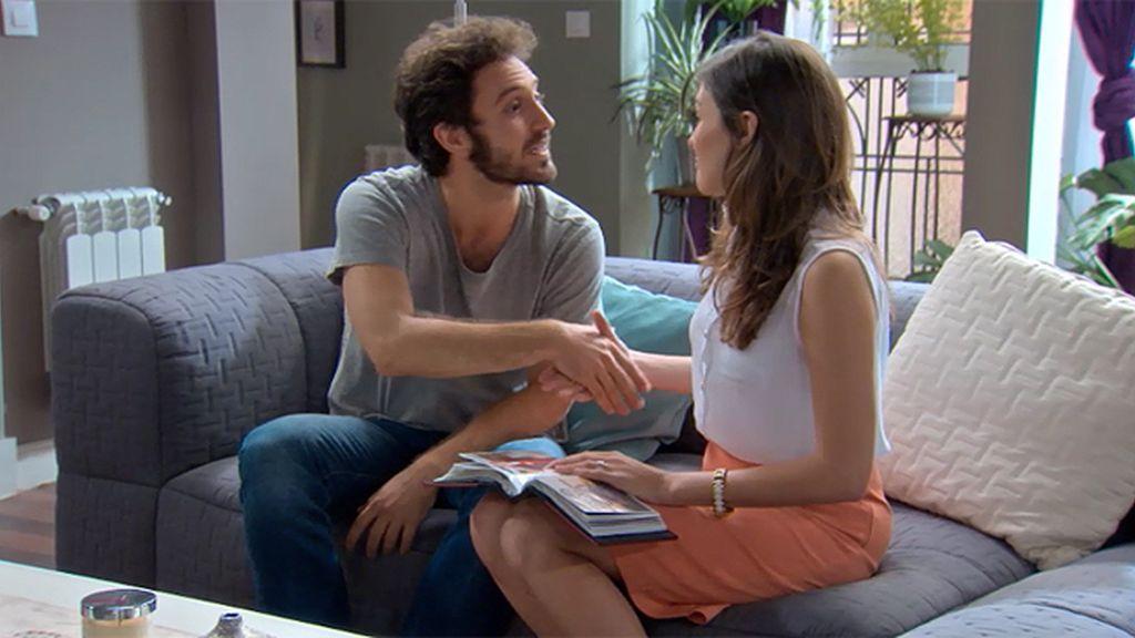 Sergio y Natalia, una expareja civilizada