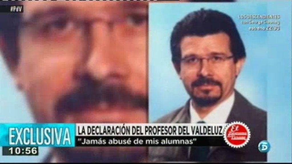 'El programa del verano' tiene acceso en exclusiva a la declaración de Andrés Díez