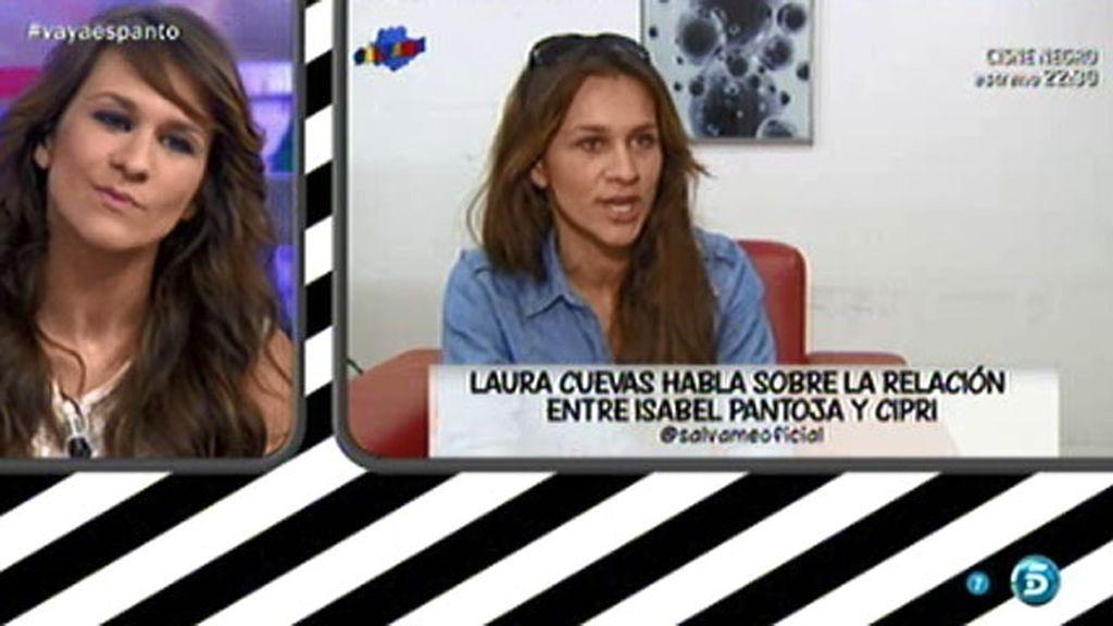 """Laura Cuevas, sobre Isabel Pantoja: """"Ella estaba más entregada que Cipri"""""""