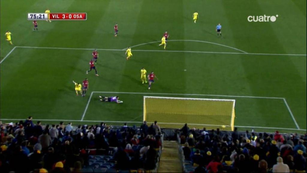 Gol de Perbet (Villarreal 3-0 Osasuna)
