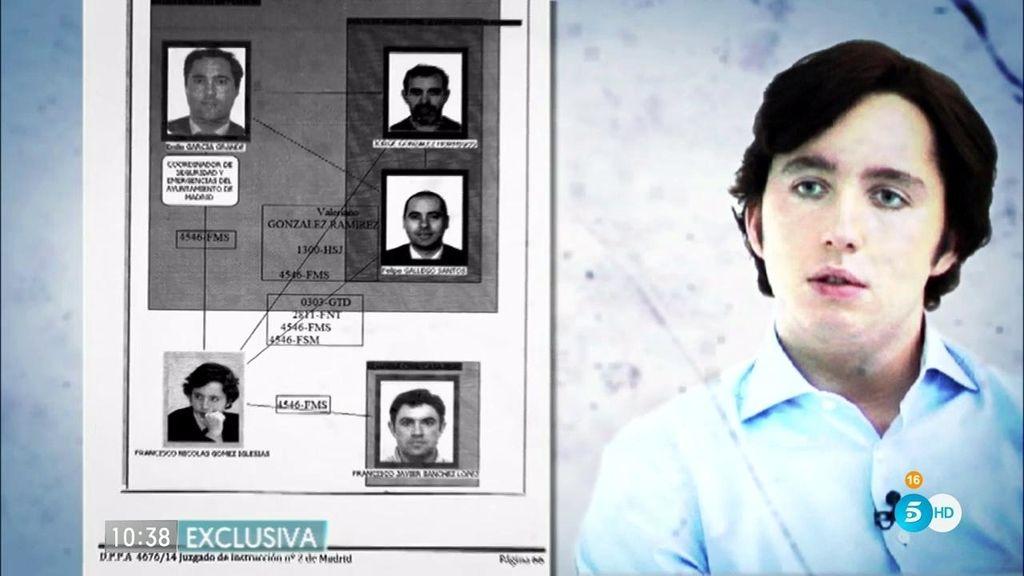 La policía desmonta la trama de F.Nicolás