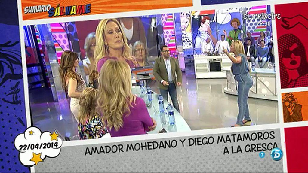 """Belén Esteban: """"Lo que tiene que hacer Rosa Benito es dejar de defender a Amador"""""""