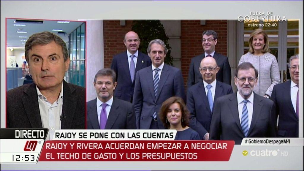 """Pedro Saura (PSOE): """"Con estos ministros resulta mucho más difícil que el PSOE apruebe los presupuestos del PP"""""""