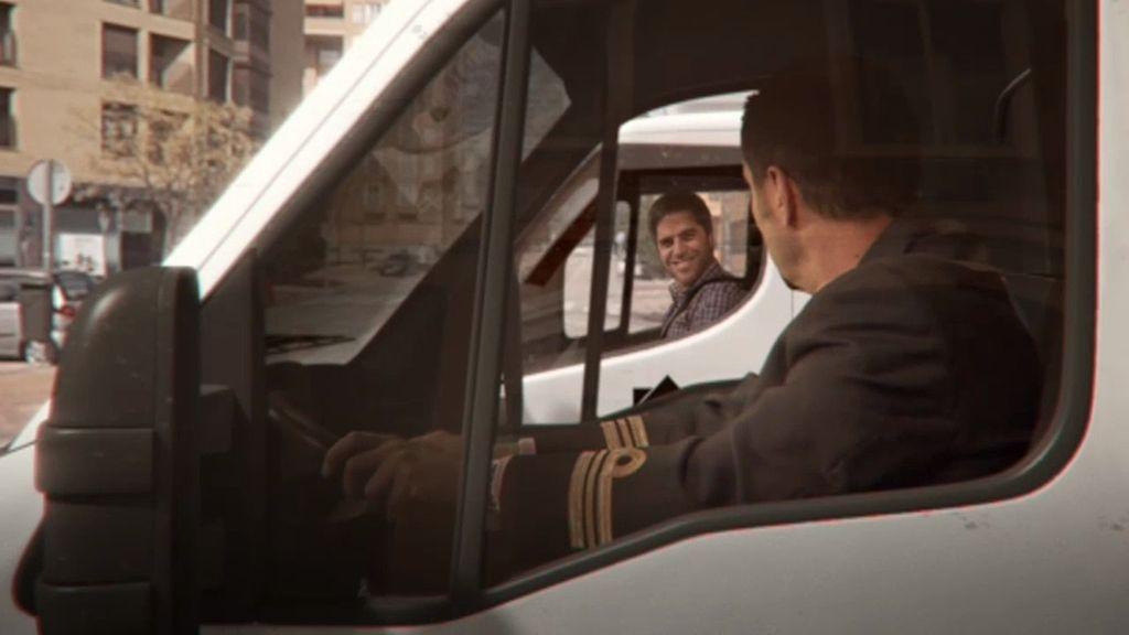 El pique de Antonio con Teodoro termina con una accidentada carrera de camiones