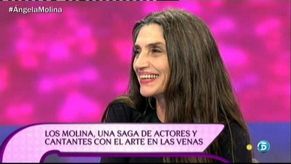 """Ángela Molina: """"Mi madre es la luz y la inteligencia de esta familia"""""""