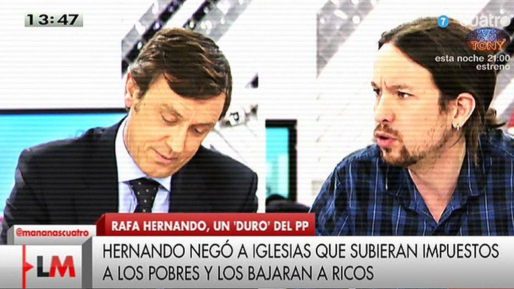Rafael Hernando, nuevo portavoz del PP, estará en 'Las Mañanas de Cuatro'