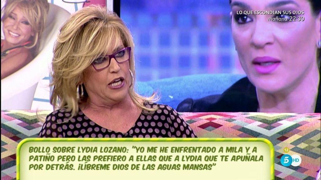 """Lydia: """"Le caigo fatal a Raquel Bollo, dice a amigos comunes que soy mala persona"""""""