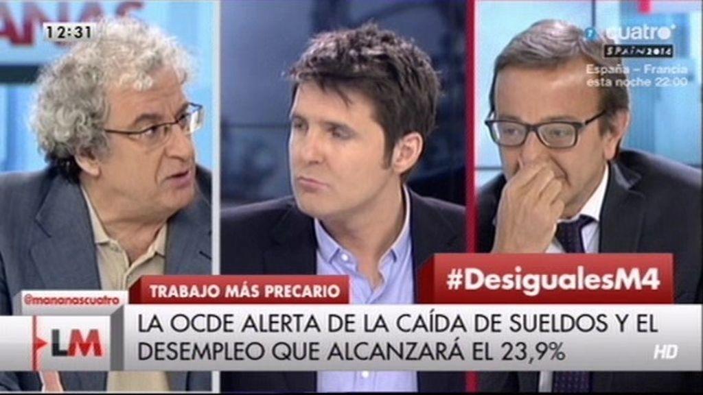 """J.M. Calleja: """"En España es compatible tener trabajo con vivir en precario"""""""