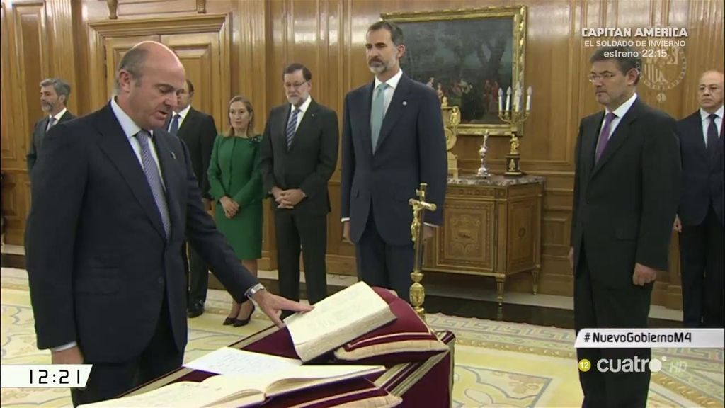 Así ha sido la jura de cargos del nuevo ejecutivo de Mariano Rajoy