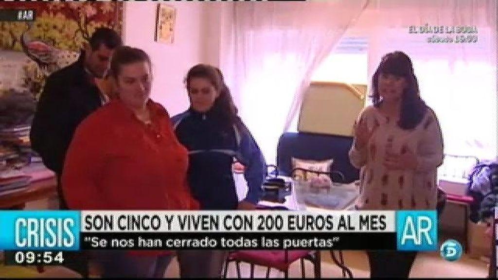 """Toñi: """"Se nos han cerrado todas las puertas"""""""