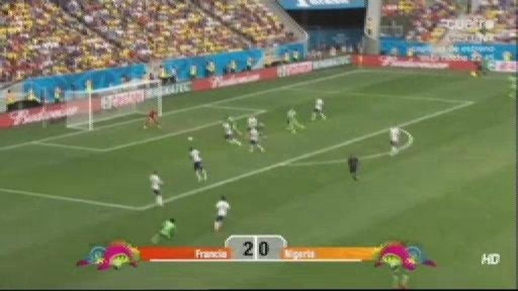 Francia vence a Nigeria y entra sin despeinarse en cuartos (2-0)