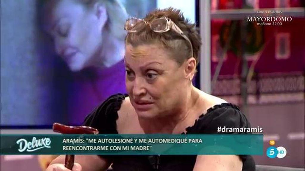 """Aramis: """"Me automediqué y me autolesioné con la intención de reunirme con mi madre"""""""
