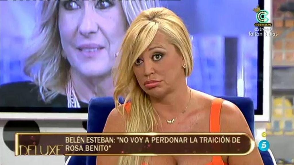 """Belén Esteban: """"Rosa me ha querido y me ha dejado de querer, yo mentí por ella"""""""