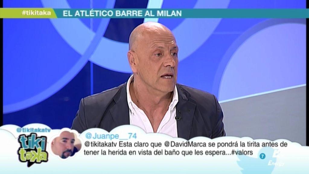"""Kiko Matamoros: """"Courtois es el jugador más apetecible del mercado"""""""