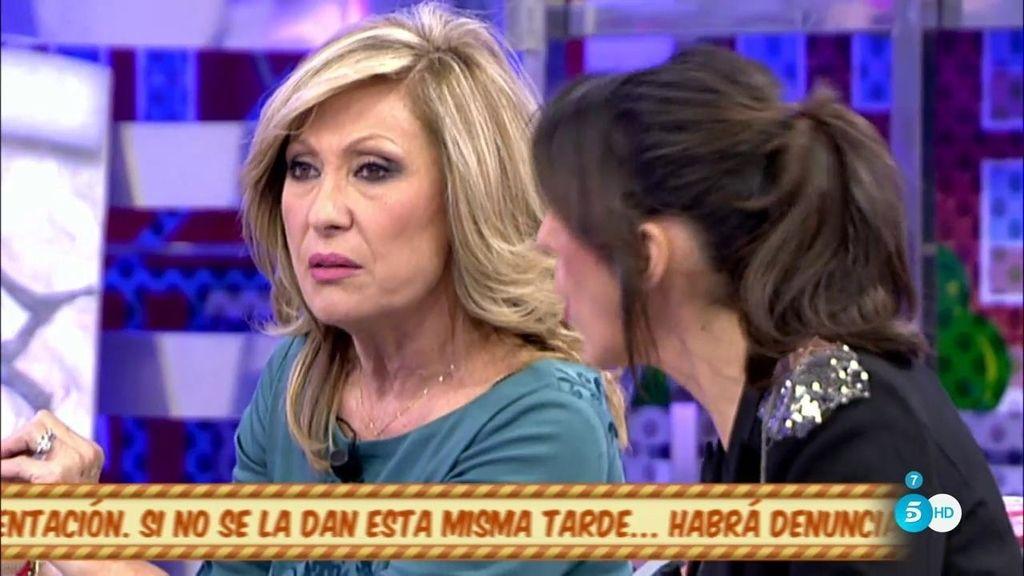 """Rosa Benito: """"Sandra Bruman nunca ha tenido una relación con mi hijo"""""""