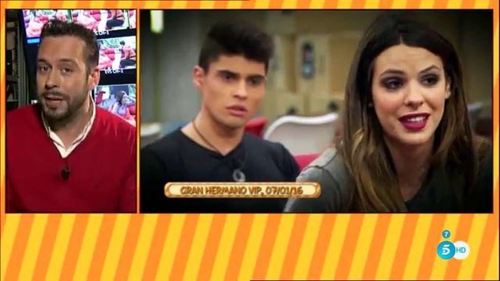 """Kike Calleja: """"Laura Matamoros dice que quiere  su padre pero que no le entiende"""""""