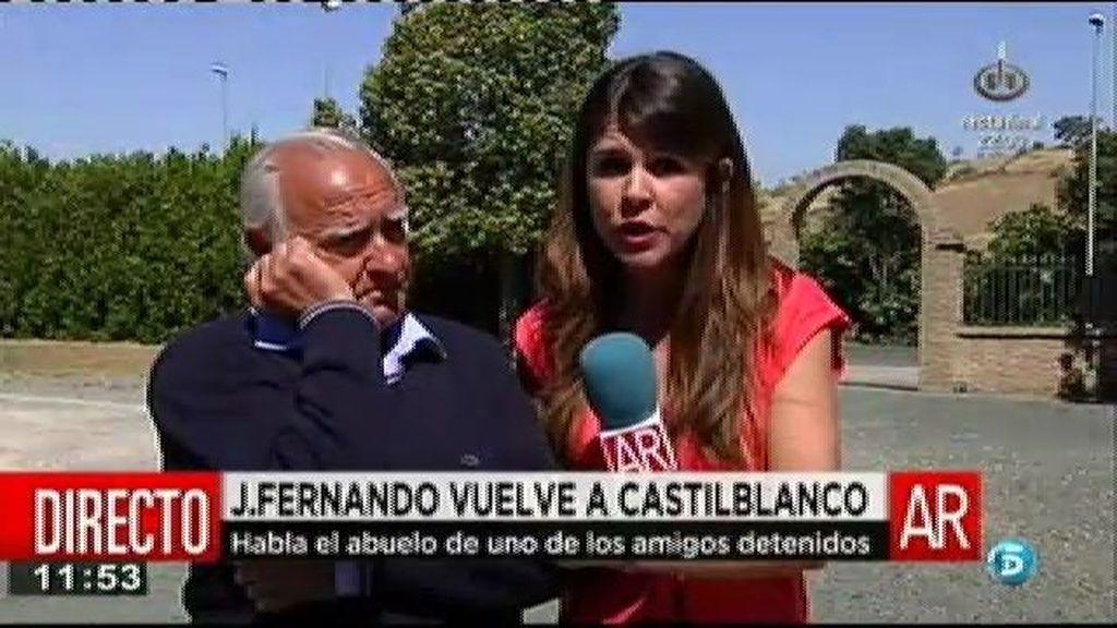 'AR' habla con Mario, el abuelo de Isco, uno de los amigos de José Fernando