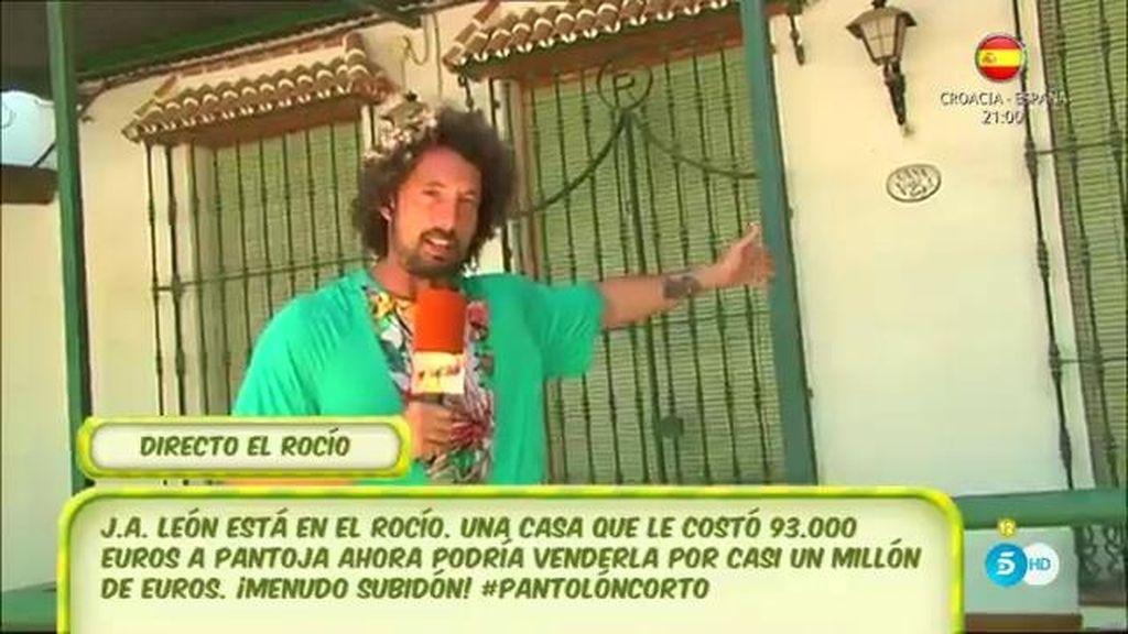 Pantoja querría vender su casa de 'El Rocío' por casi un millón de euros, según J.A. León