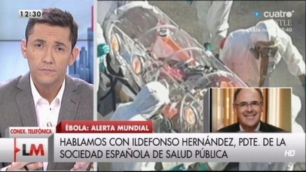 """Ildefonso Hernández: """"El riesgo para la población es prácticamente cero"""""""