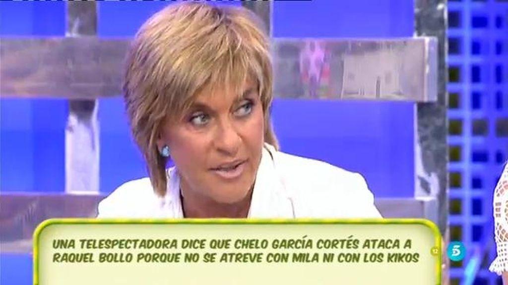 """Chelo Gª Cortés, a la audiencia: """"No tengo miedo, nadie me va a amilanar"""""""