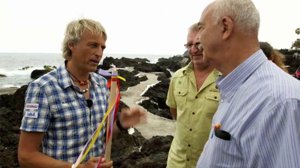 Horacio, experto en cabañuelas, predice cómo estará la mar el día de la misión