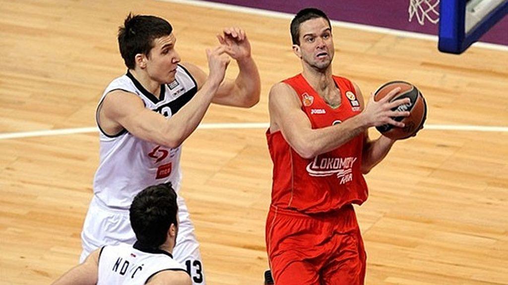 El Partizan pierde en casa contra el Lokomotiv Kuban