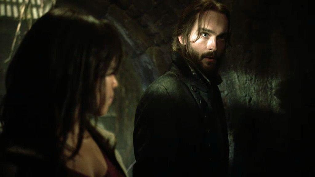 Ichabod Crane y la agente Mills encuentran al nigromante