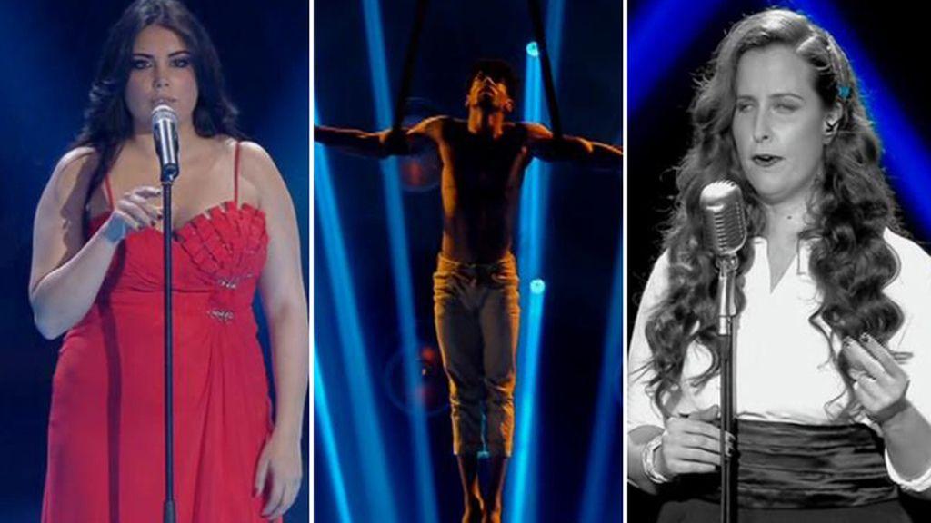 Robin Dee, María Mendoza y Marco Aurelio, últimos finalistas de 'Got Talent'