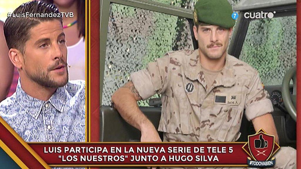 """Luis Fernández: """"El sargento que tuvisteis en la mili soy yo, así de malo"""""""