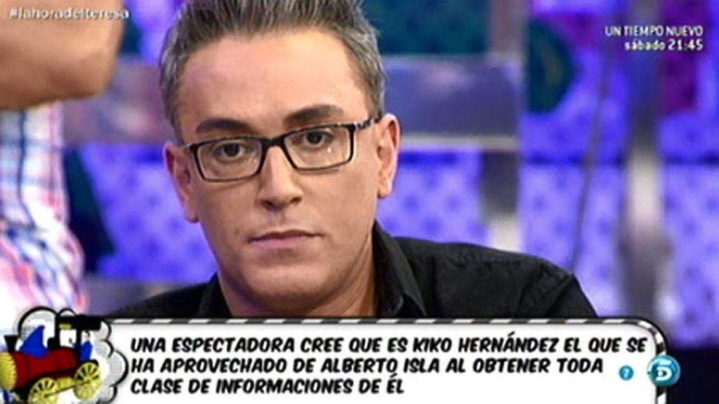"""Kiko Hernández no se enfrentó con Isla en el 'Deluxe' por """"compasión"""", según J.J."""