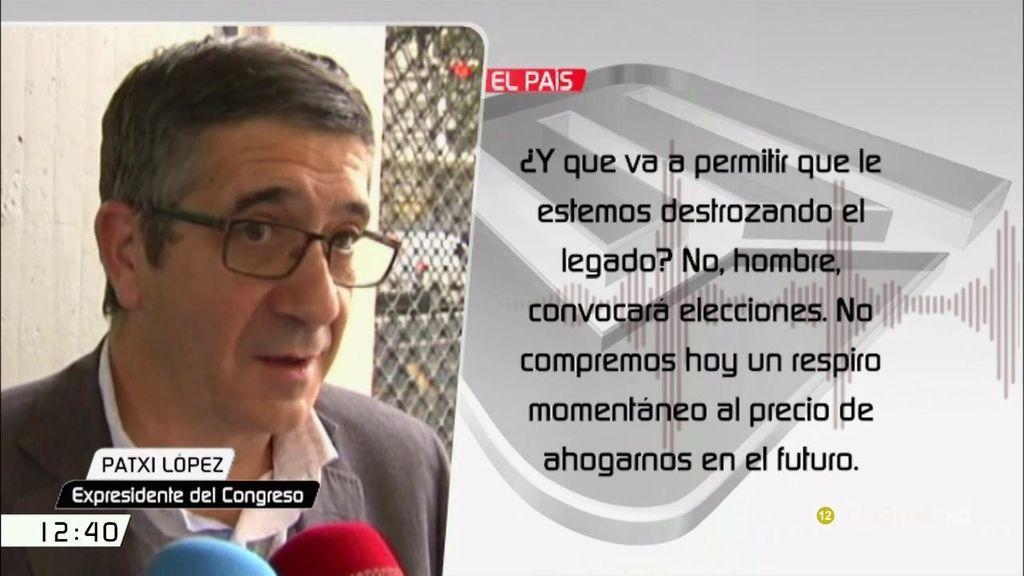 Paxti López, Josep Borrell y Óscar López lideran las voces críticas a la abstención