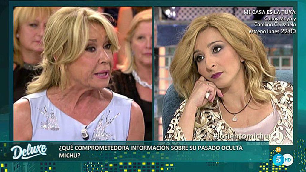 """Mila, a Michu: """"Estás fichada por narcotráfico y le facilitabas la droga a José Fernando"""""""