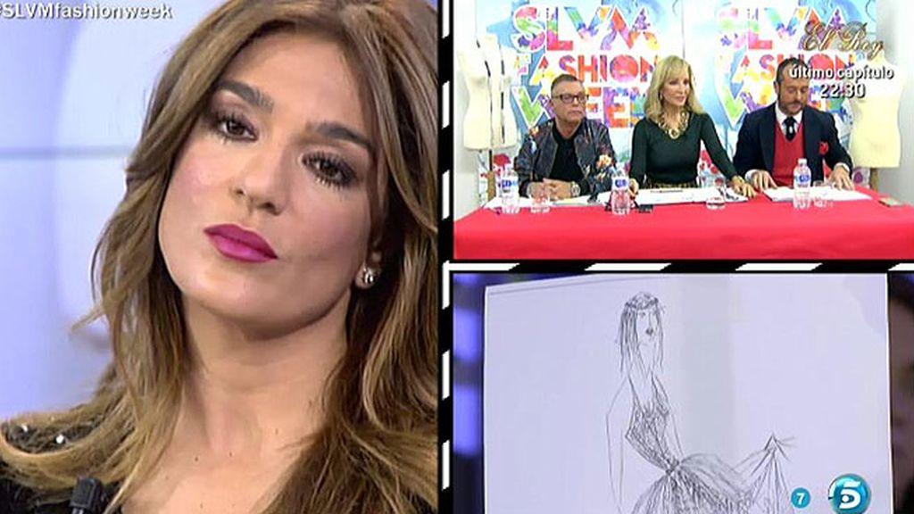 Raquel irá con un diseño ibicenco en la 'Sálvame Fashion week'