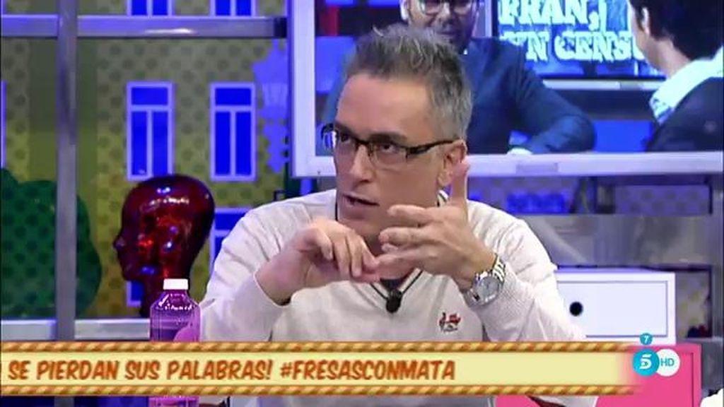 "Kiko Hernández: ""Laura Matamoros ha pecado de excesiva"""