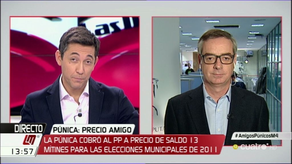 """Villegas, sobre Podemos: """"Les pagan para cambiar las cosas creando leyes"""""""