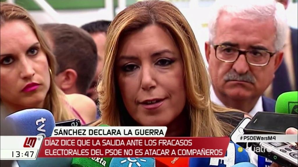 """S.Díaz: """"Donde crean mis compañeros que sea útil, en la cabeza o en la cola, ahí estaré"""""""