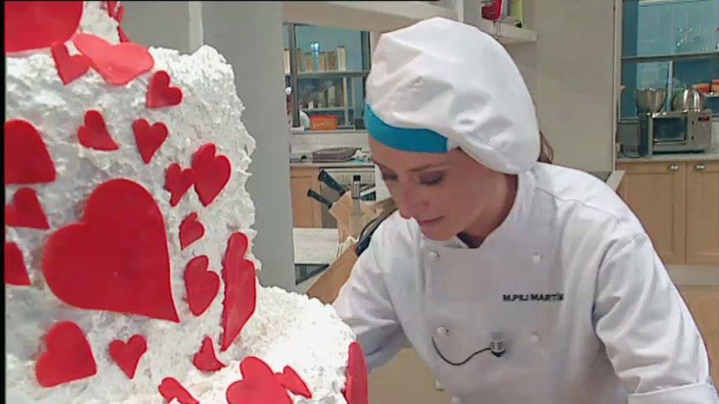 Cómo hacer corazones de chocolate blanco