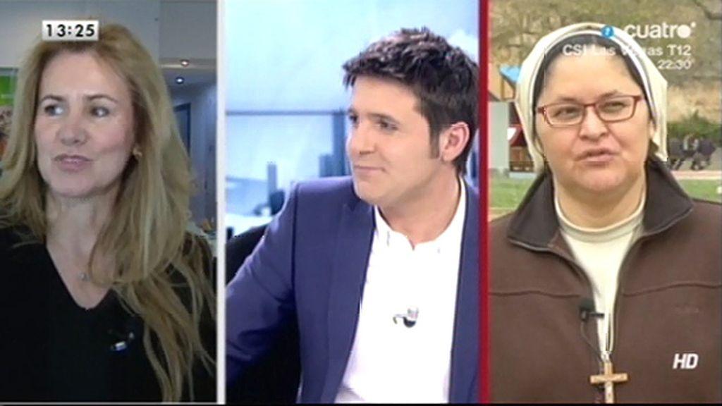 La entrevista a Xiskya y Consuelo López Zuriaga, online