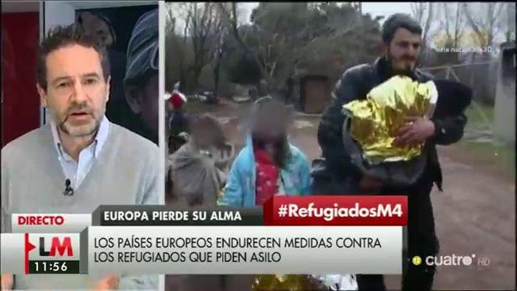 """Andrés Conde, 'Save the children': """"La falta de respuesta política fomenta las mafias que hacen negocio con el tráfico de refugiados"""""""