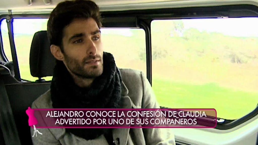 """Alejandro: """"Me acerqué a Paula y a Claudia fuera porque eran las más fuertes"""""""