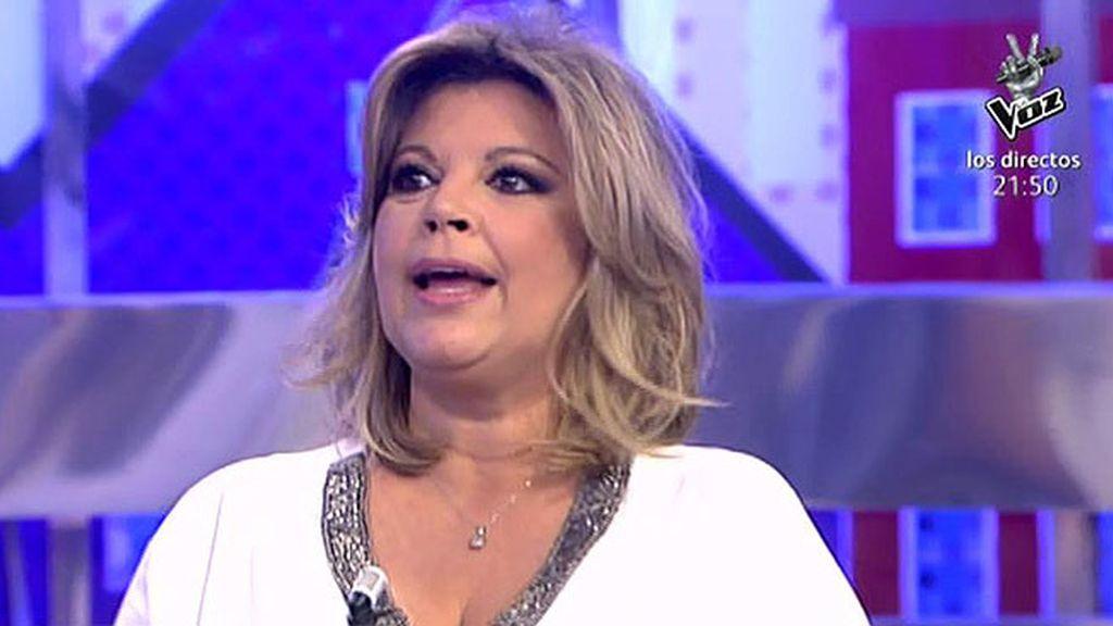 Terelu descubre que la persona con la que hablaba Luis Rollán era Marisa M. Blázquez
