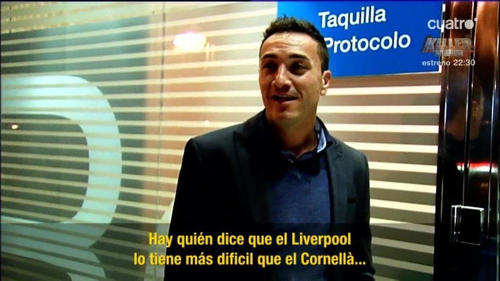 """El entrenador del Cornellá: """"El señorío del que presume el Real Madrid es real"""""""