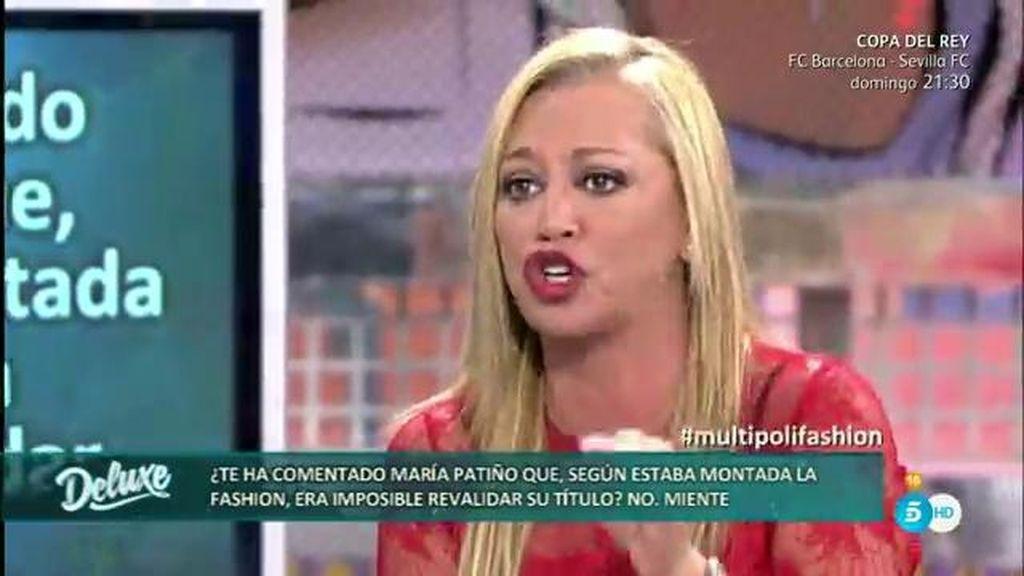"""Belén Esteban: """"La primera sorprendida por ganar la 'SFW' fui yo"""""""