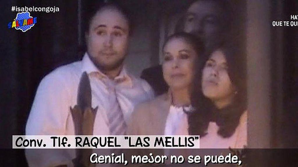 """Raquel, de 'Las Mellis': """"Pantoja está contenta con el comportamiento de sus hijos"""""""